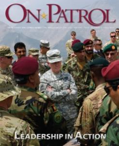 OnPatrol Magazine Cover - Fall 2012 Issue