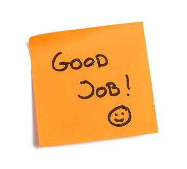 Good Job! :-)