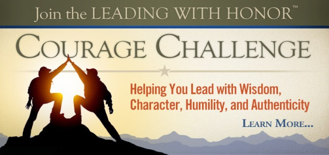 Lee Ellis - Courage Challenge Banner