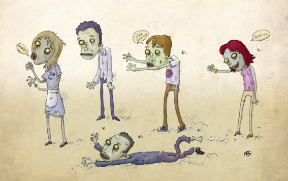 Zombie at Work and Leadership