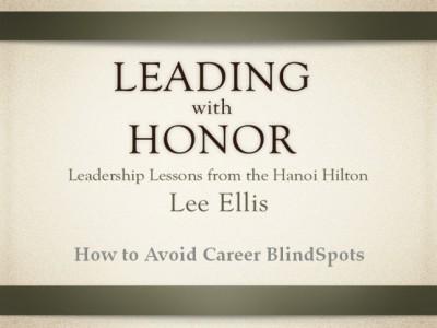 Career Blindspots - Lee Ellis
