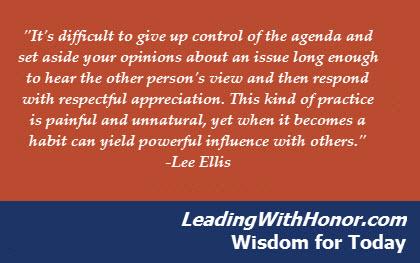 Lee Ellis - Leadership Wisdom for Today