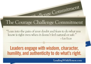 Courage Challenge Leadership
