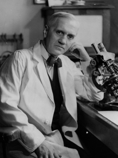 Sir Alexander Fleming Leadership