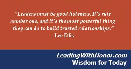 lee ellis leadership