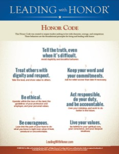 Leading with Honor Code