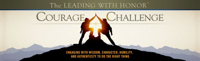Leading with Honor Courage Challenge