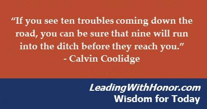 Lee Ellis - Wisdom for Today troubles