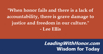 leading with honor wisdom