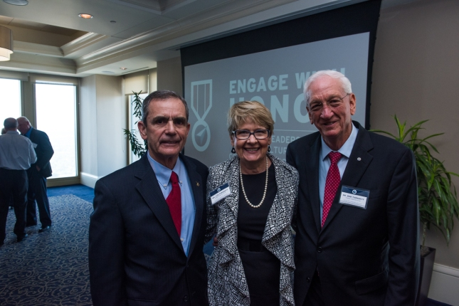 From Left to Right – Lee Ellis, Lyn Turknett, Dr Bob Turknett