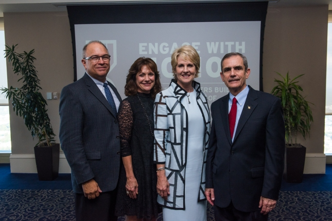 From Left to Right – NGHS CFO - Vice President, Finance Tony Herdener; NGHS Vice President, Strategic Planning & Marketing Tracy Vardeman; NGHS President and CEO Carol Burrell; Lee Ellis